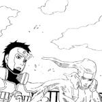 Mokuton (Hashirama / Yamato ) Moku_Bunshin